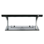 DELL 452-10777 monitor mount / stand Black, Silver