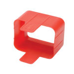 Tripp Lite Plug Lock Connector C20 Power Cord / Lead to C19 Outlet Inserts - Red (Pack of 100)