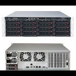 Supermicro 6038R-E1CR16L Intel® C612 LGA 2011 (Socket R) Rack (3U) Black