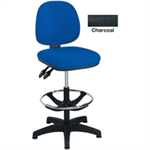 Arista FF ARISTA ADJUST DRAUGHTSMAN CHAIR CHARC