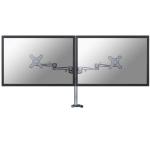 Newstar FPMA-D935DG Flat panel Tischhalter 68,6 cm (27 Zoll) Silber