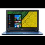 "Acer Aspire 3 A315-51-33V0 Blauw Notebook 39,6 cm (15.6"") 1920 x 1080 Pixels Zesde generatie Intel® Core™ i3 i3-6006U 4 GB DDR4-SDRAM 1128 GB HDD+SSD"