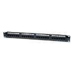 Intellinet Cat5e Patch Panel, 24-Port, UTP, 1U, Black (513555)