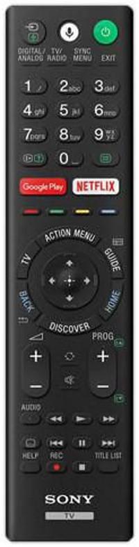 Sony RMF-TX220E remote control Wired TV Press buttons