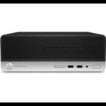 HP ProDesk 400 G6 i3-9100 SFF 9th gen Intel® Core™ i3 8 GB DDR4-SDRAM 256 GB SSD Windows 10 Home PC Black