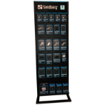 Sandberg Alu Slatwall Display 2-sided