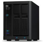 Western Digital My Cloud PR2100 N3710 Ethernet Escritorio Negro NAS