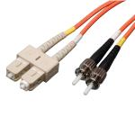 Tripp Lite Duplex Multimode 62.5/125 Fiber Patch Cable (SC/ST), 1M (3-ft.)