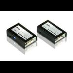 Aten VE602 AV transmitter & receiver Black AV extender