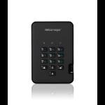 iStorage diskAshur2 256-bit 256GB USB 3.1 secure encrypted solid-state drive - Black IS-DA2-256-SSD-256-B