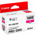 Canon 0548C001 (PFI-1000 M) Ink cartridge magenta, 5.86K pages, 80ml