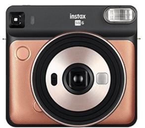 Fujifilm Instax SQ 6 62 x 62 mm Gold
