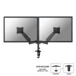"Newstar FPMA-D950DBLACK 27"" Black flat panel desk mount"