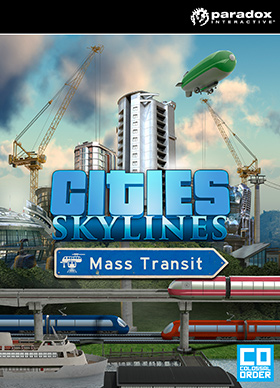 Nexway Cities: Skylines - Mass Transit Video game downloadable content (DLC) PC/Mac/Linux Español