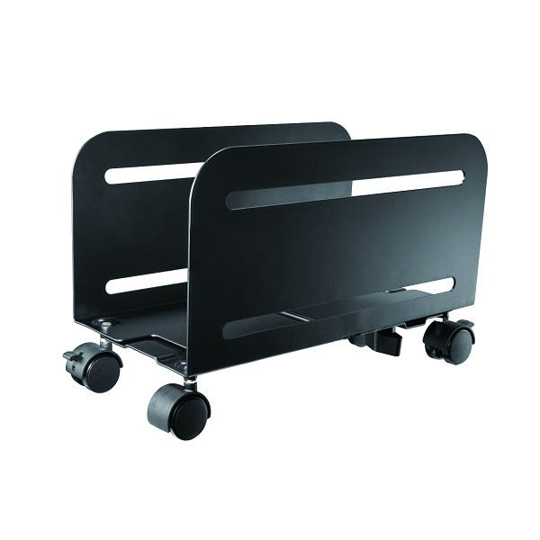 Newstar Mobile PC Mount (Suitable PC Dimensions - Width: 12-21 cm) - Black