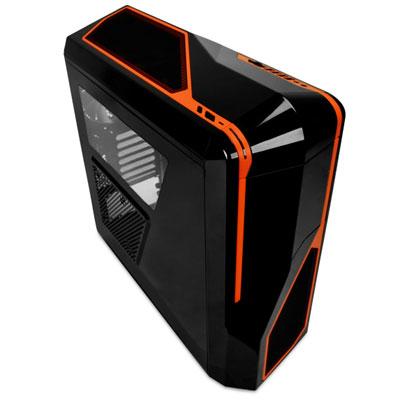 NZXT Phantom 410 Midi-Tower Black,Orange computer case