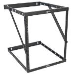 Tripp Lite SRWO8U22DP SmartRack 8U/12U/22U Expandable Low-Profile UPS-Depth Wall-Mount 2-Post Open-Frame Rack