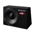 Kenwood Electronics KSC-W1200B Pre-loaded subwoofer 300W