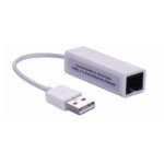 Microconnect USB2.0 to Ethernet network media converter White