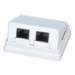 Microconnect UT2RJ45A White cable interface/gender adapter