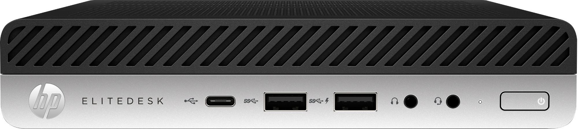 HP EliteDesk 800 G4 8th gen Intel® Core™ i7 i7-8700 16 GB DDR4-SDRAM 512 GB SSD Black,Silver Mini PC