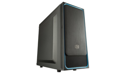 Cooler Master MasterBox E500L computer case Midi-Tower Black, Blue