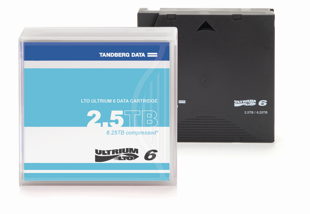 Tandberg Data LTO-6 2500 GB 1.27 cm