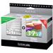 Lexmark 80D2978 (36XL+37XL) Printhead multi pack, 500 pages, 500 pg + 175 pg, Pack qty 2