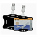 Durable 8118/01 Polystyrol 25pc(s) identity badge/badge holder