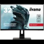 "iiyama G-MASTER GB3266QSU-B1 LED display 81.3 cm (32"") 2560 x 1440 pixels Quad HD Black"