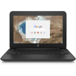 "HP ChromeBook 11, 11"" HD UWVA , Cel N3060, 4GB, 32GeMMCC, TOUCH, Chrome 64, 1YR WTY"