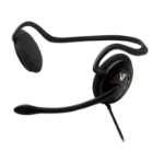 V7 Behind-the-neck stereo headset with microphone
