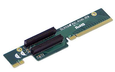 Supermicro RSC-R1UU-2E8 interface cards/adapter