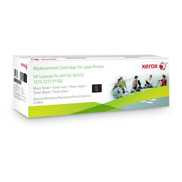 Xerox 106R02156 compatible Toner black, 1.6K pages @ 5% coverage (replaces HP 85A)