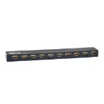 Tripp Lite U223-010 interface hub 480 Mbit/s Black