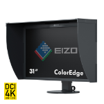 "EIZO ColorEdge CG318-4K 31.1"" 4K Ultra HD IPS Black computer monitor LED display"