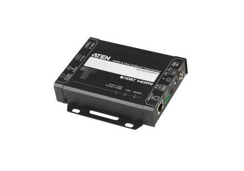 Aten VE2812T AV extender AV transmitter Black