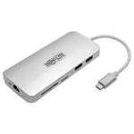 Tripp Lite U442-DOCK11-S USB-C Dock - 4K HDMI, USB 3.2 Gen 1, USB-A/C Hub, GbE, Memory Card, 60W PD Charging