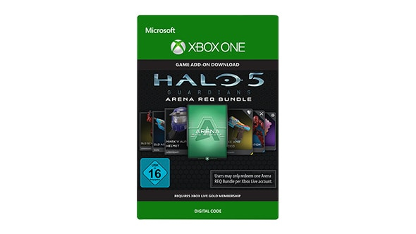 Microsoft Halo 5 Guardians Arena REQ Bundle Xbox One Video game add-on Halo 5: Guardians