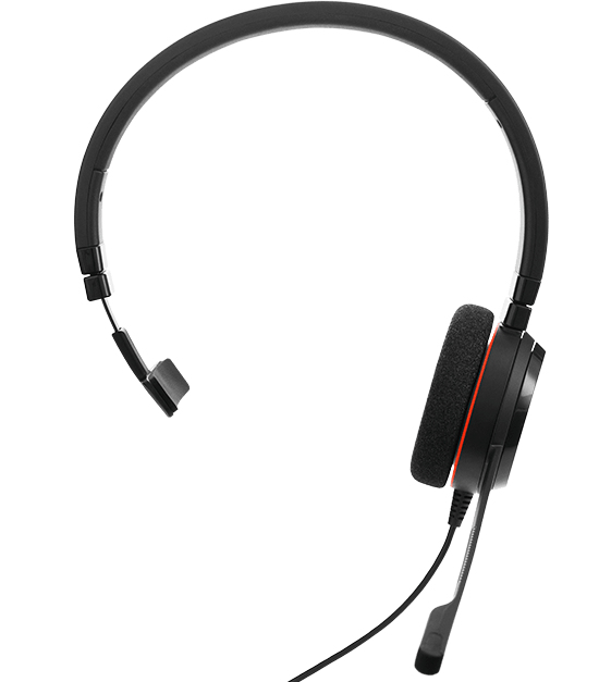 Jabra Evolve 20SE MS Mono Monaural Head-band Black