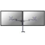 "Newstar FPMA-D935DG 27"" Silver flat panel desk mount"