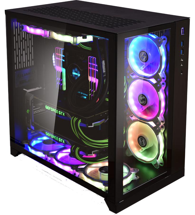 Gorilla Gaming BOSS 3.1 - Ryzen 7 3700X 3.6GHz, 16GB RGB RAM, 250GB NVMe, 2TB, 8GB RTX 2070 Super
