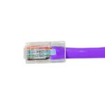 Videk Cat6 UTP RJ45 networking cable Purple 0.3 m U/UTP (UTP)