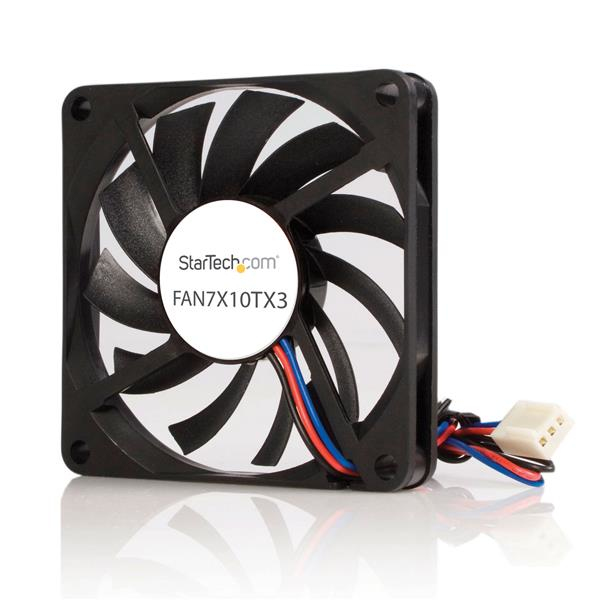 StarTech.com 70mm TX3 CPU Koelventilator op Dubbele Kogellagers