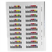 HP Q2009A bar code label