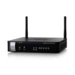 Cisco RV110W Single-band (2.4 GHz) Fast Ethernet Black wireless router