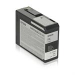Epson C13T580100 (T5801) Ink cartridge black, 80ml