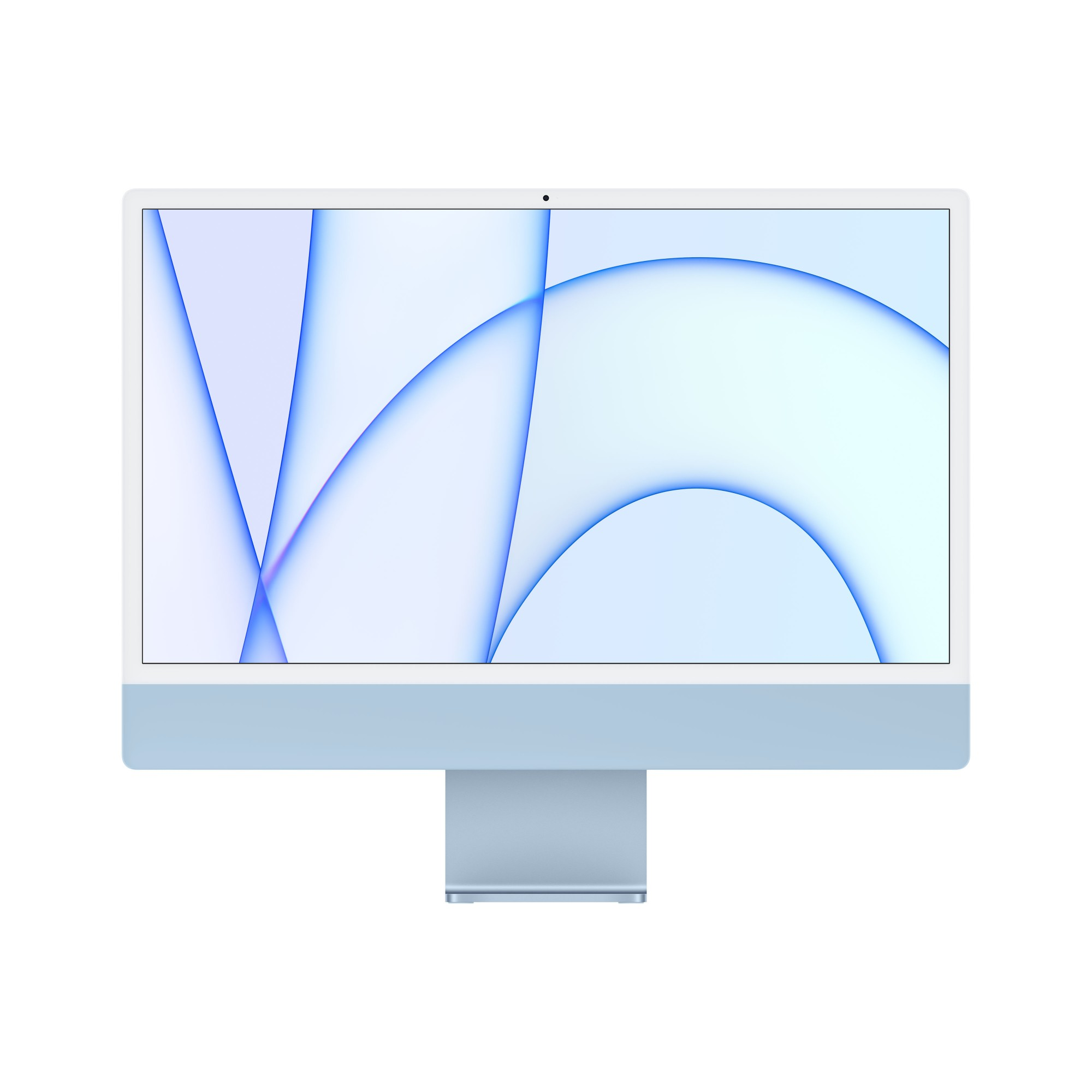 Apple iMac 24-inch with Retina 4.5K display: M1�� chip with 8_core CPU and 8_core GPU, 512GB - Blue (2020)