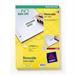 Avery L4730REV-25 White Self-adhesive printer label printer label