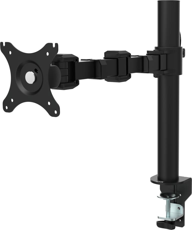 """Vision VFM-DP 30"""" Clamp Black flat panel desk mount"""